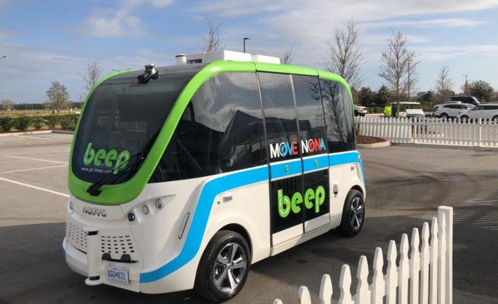 BEEP autonomous bus