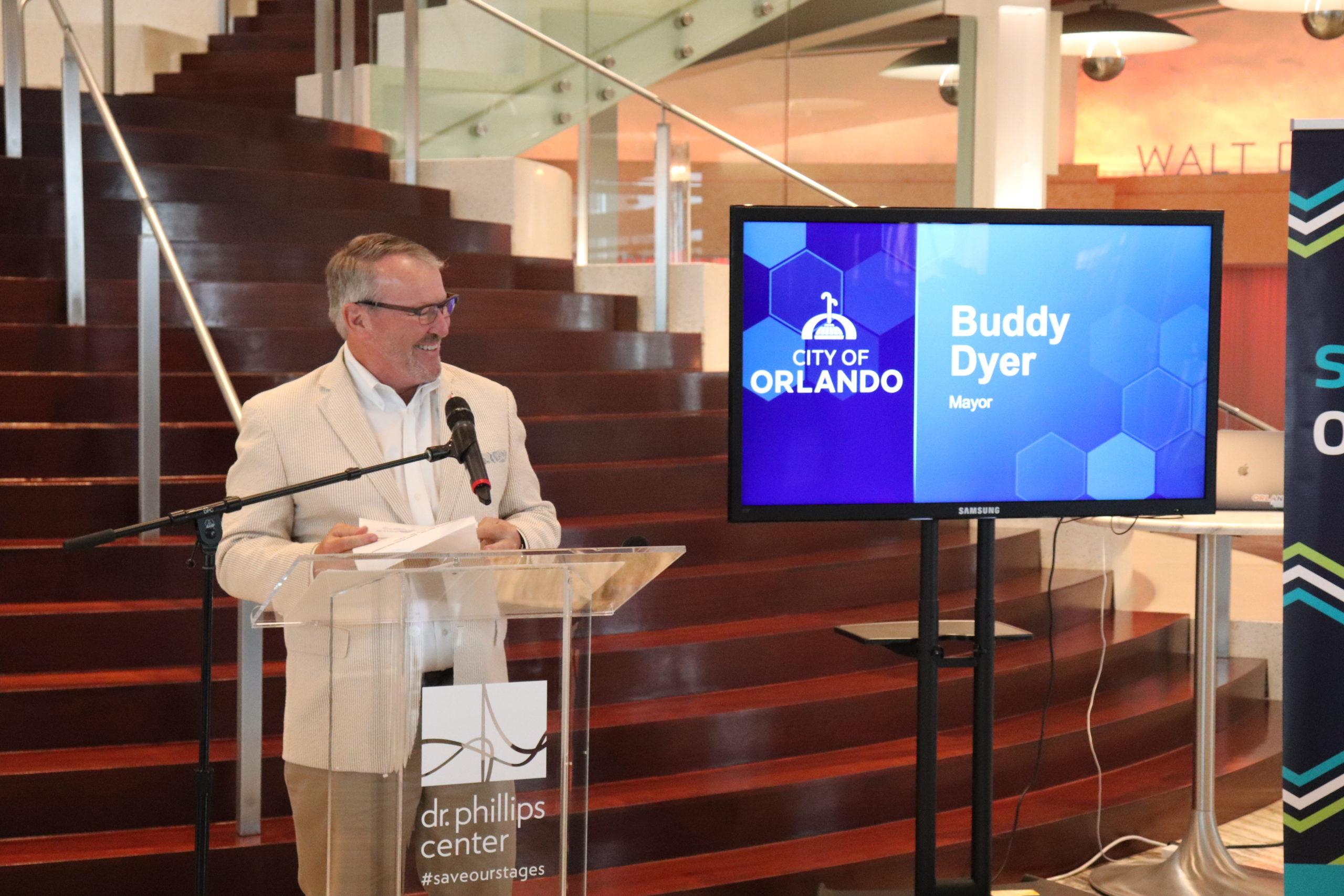 City of Orlando Mayor Buddy Dyer